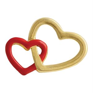 Picture of Double Heart Charm